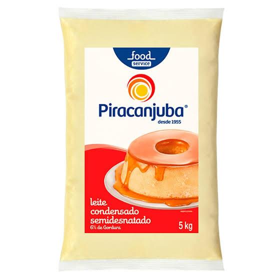 LEITE CONDENSADO PIRACANJUBA BAG 5 KG