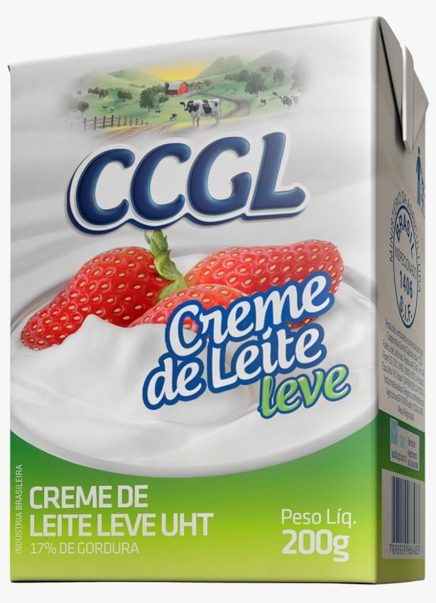 CREME DE LEITE CCGL LEVE 17%GORDURA 200G