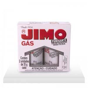 DEDETIZADOR JIMO GAS FUMIGANTE C/2X35G