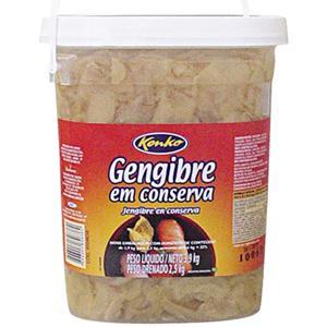 GENGIBRE EM CONSERVA KENKO 2,5 KG