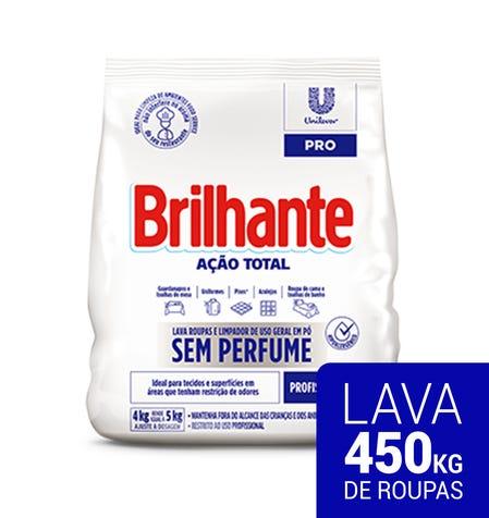 SABÃO EM PÓ BRILHANTE PRO S/PERF.4,00KG